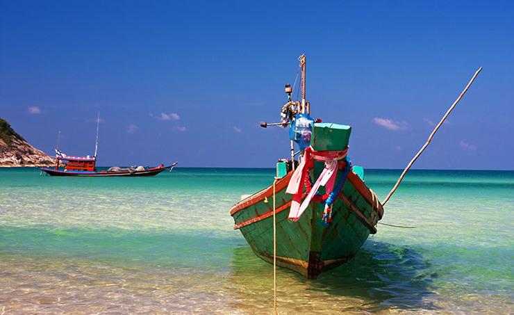 白い砂に青い海!パンガン島のビーチが美しすぎる!