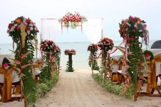 パンガン島で挙げる結婚式
