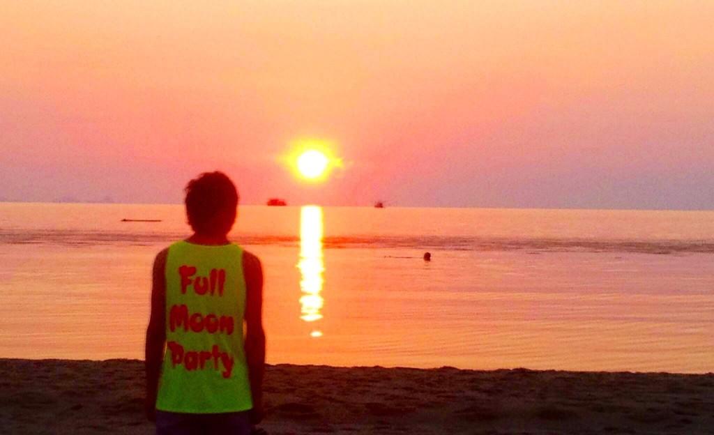 パンガン島で最も美しい夕日が見れる場所