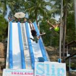 パンガン島で今話題のアトラクション「Slip N Fly」とは